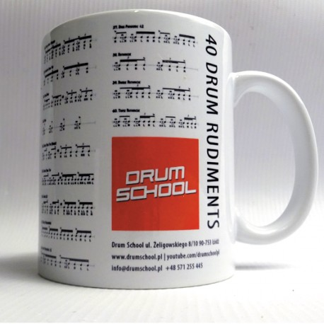 40 Drum Rudiments - kubek