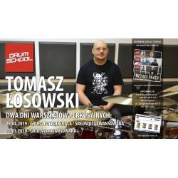 Warsztaty Perkusyjne vol. 9 - TOMASZ ŁOSOWSKI - 03.03.2018 - Łódź